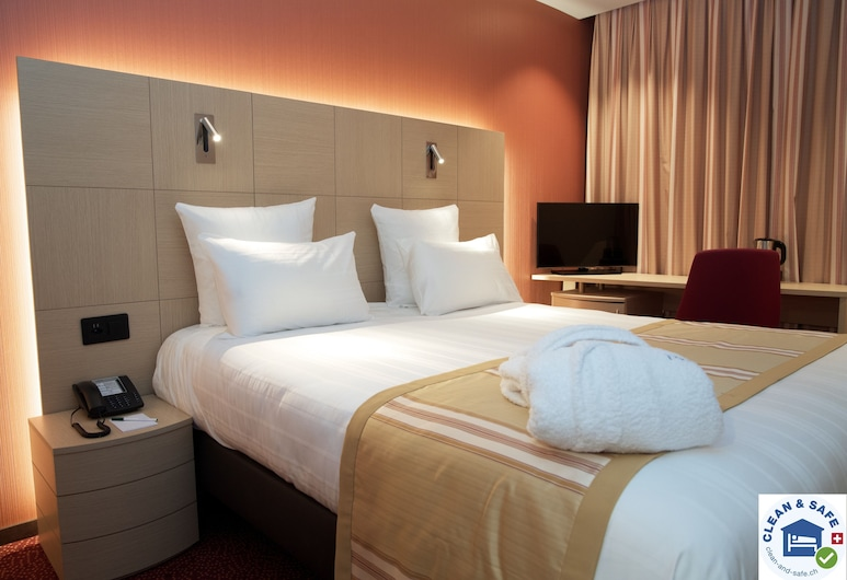 Nash Airport Hotel, Meyrin, Double or Twin Room, Guest Room