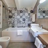 Design-Suite, 1King-Bett, Nichtraucher, Kochnische - Badezimmer