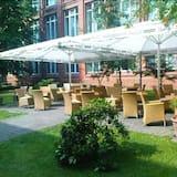 Udendørs spisning