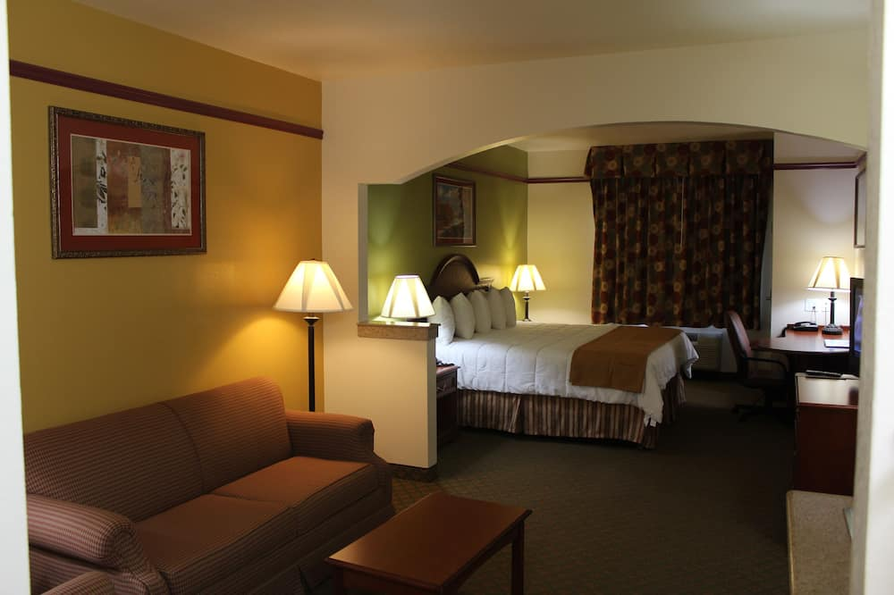 Номер-люкс категорії «Superior», 1 ліжко «кінг-сайз», ванна з гідромасажем - Вибране зображення