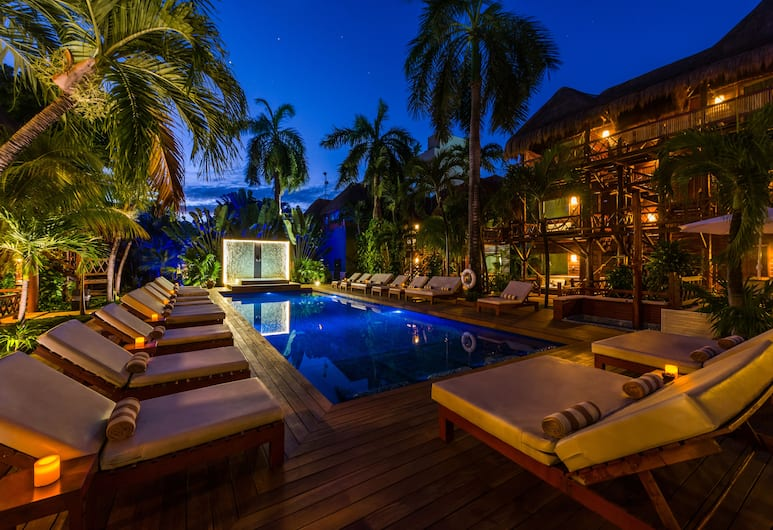Magic Blue Spa Boutique Hotel-Adult Only, Playa del Carmen, Pool