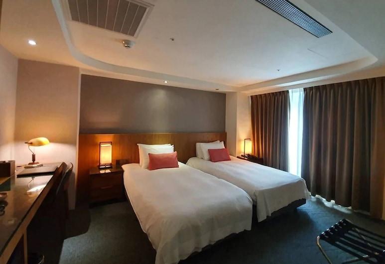 藍天麗池飯店, 花蓮市, 高級雙床房, 客房
