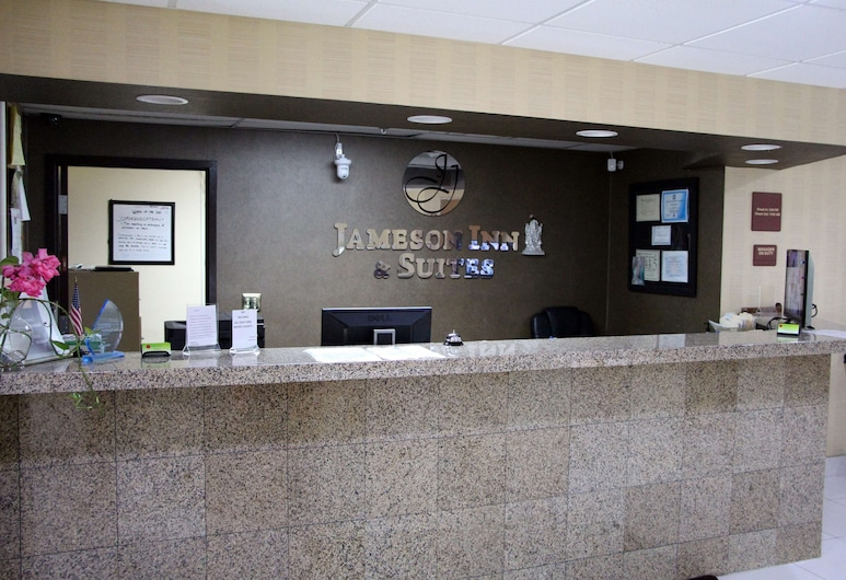 Jameson Inn and Suites Riverdale, Riverdale, Lobby