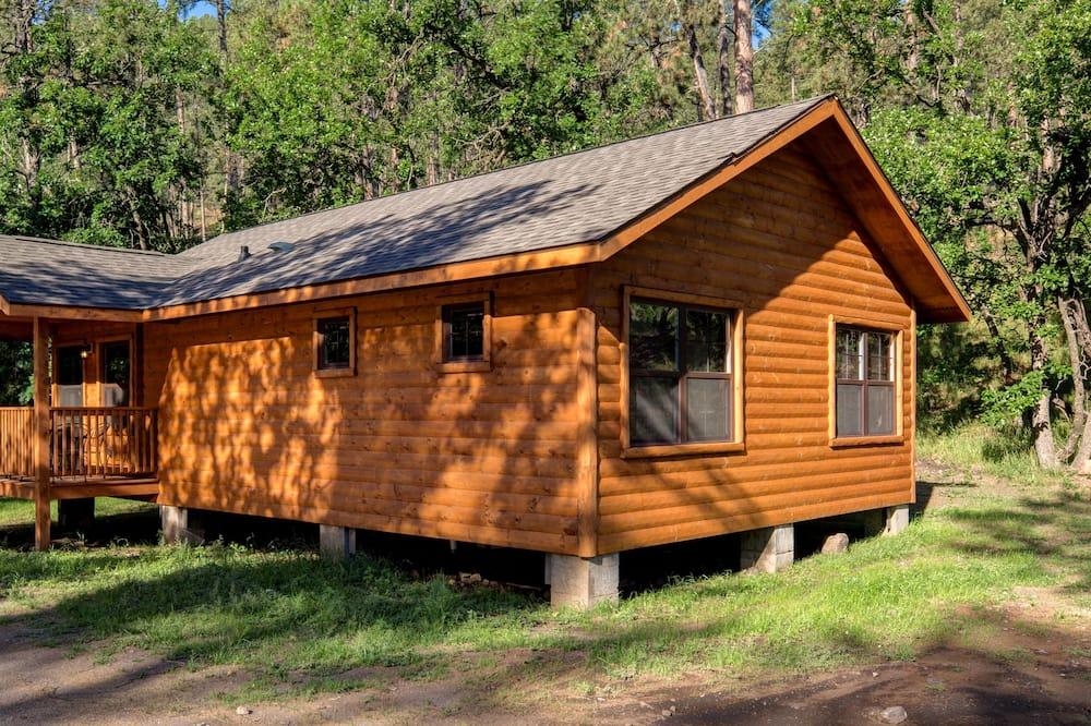 Cabaña Premium, 2 habitaciones, 2 baños, vista al parque - Habitación