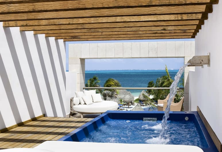 Excellence Playa Mujeres - All Inclusive - Adults Only, Playa Mujeres, Excellence Club Two-story Rooftop Terrace Suite Club Lounge - Premium level, Vaade toast