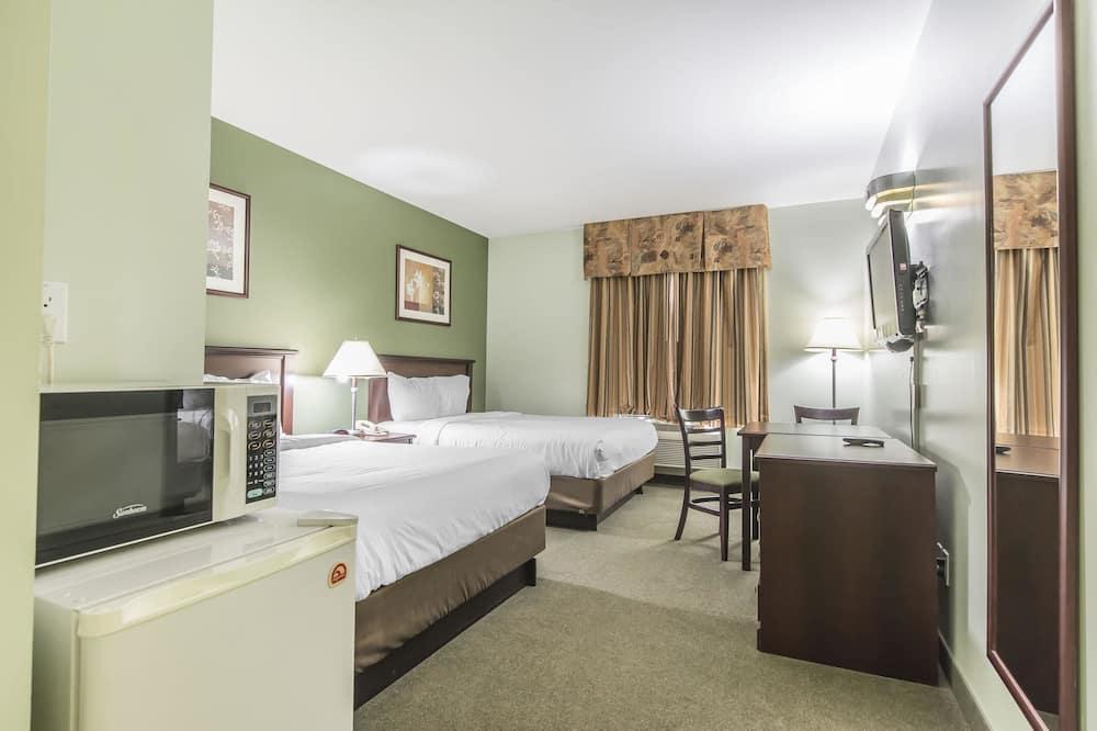 Standard szoba, 2 queen (nagyméretű) franciaágy, nemdohányzó - Vendégszoba