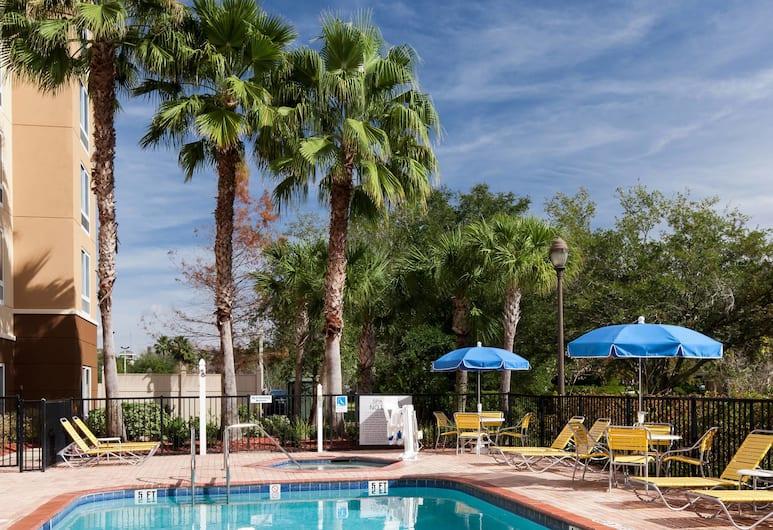 Fairfield Inn & Suites by Marriott Jacksonville Butler Blvd, Jacksonville, Piscine en plein air