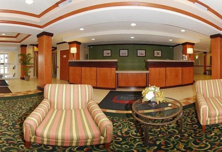 Fairfield Inn & Suites by Marriott Ames, Ames, Réception