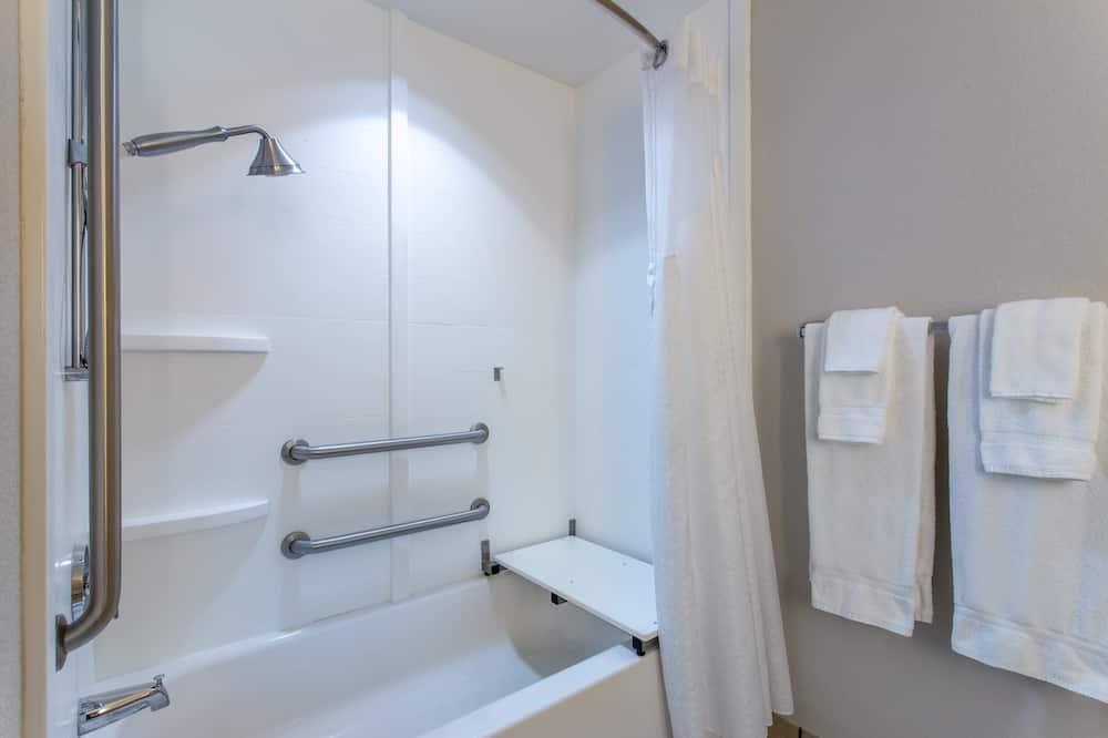 Izba, 1 extra veľké dvojlôžko, nefajčiarska izba (SPA) - Kúpeľňa