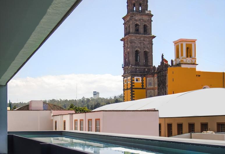 La Purificadora, Puebla, Buitenzwembad