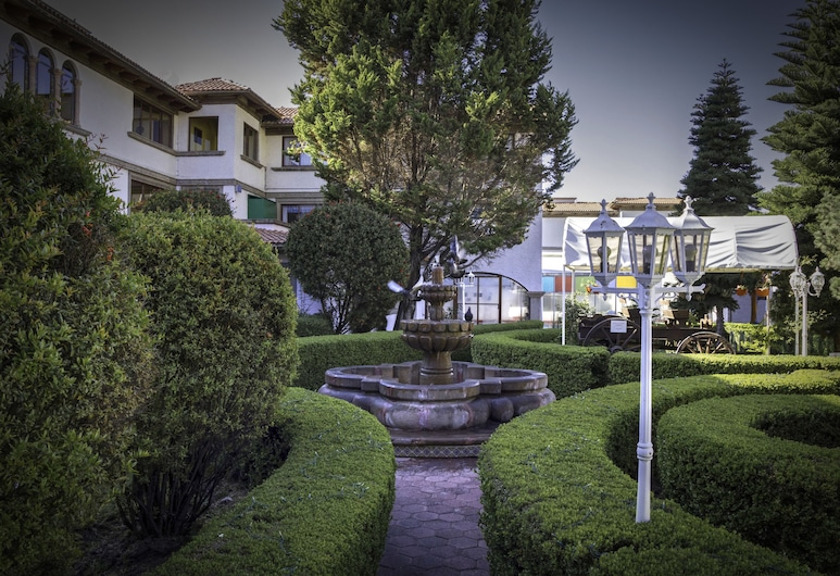 Hotel del Angel, Apizaco, Zahrada