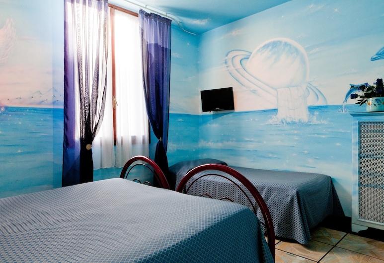 Hotel Masaccio Florence, Florence, Chambre Quadruple Standard, salle de bains attenante, Chambre