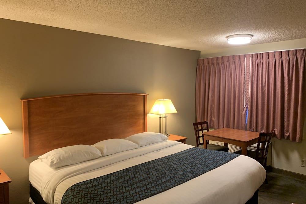 客房, 1 張特大雙人床, 非吸煙房 - 客廳
