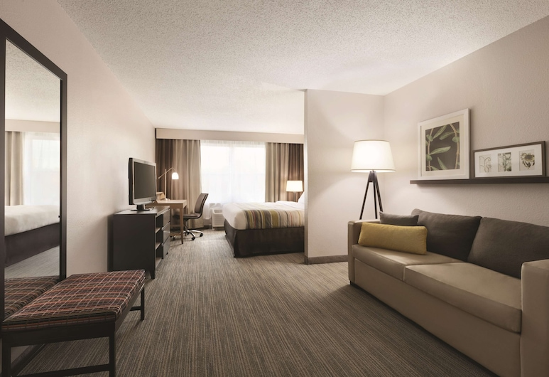 Country Inn & Suites by Radisson, Washington, D.C. East - Capitol Heights, MD, Capitol Heights, Suite Studio, plusieurs lits, non-fumeurs, Chambre