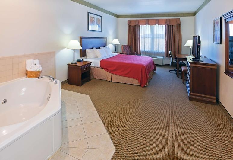 Country Inn & Suites by Radisson, Chambersburg, PA, Chambersburg, Sviit, 1 ülilai voodi, suitsetamine keelatud, mullivanniga, Tuba