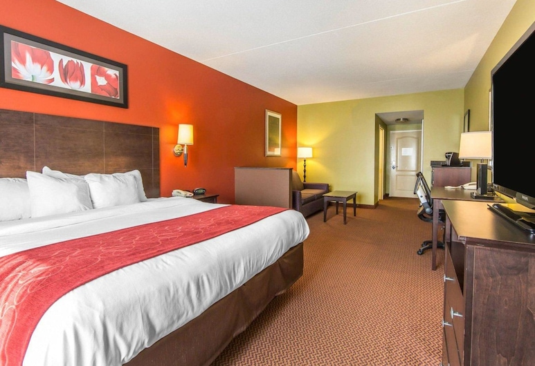 Comfort Suites East, Knoxville, Suite, Non Smoking, Guest Room