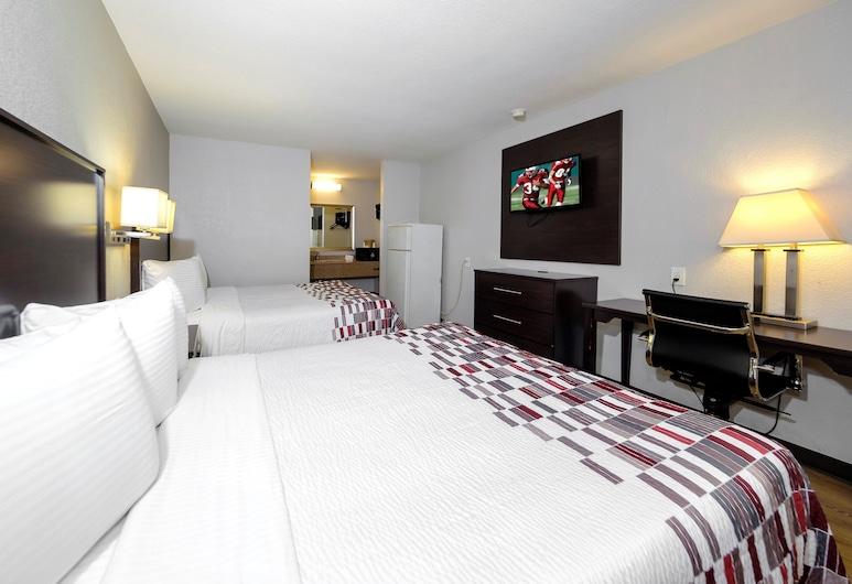 Red Roof Inn Arlington - Entertainment District, Arlington, Deluxe Oda, 2 Büyük (Queen) Boy Yatak, Sigara İçilmez, Oda