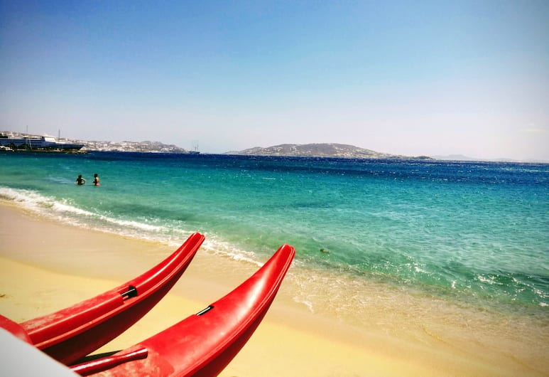 Grace Mykonos, Grad Mikonos, Plaža