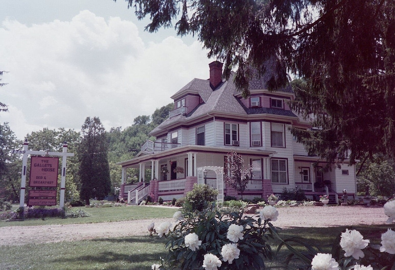 Gallets House B&B, Olean, Pohľad na hotel