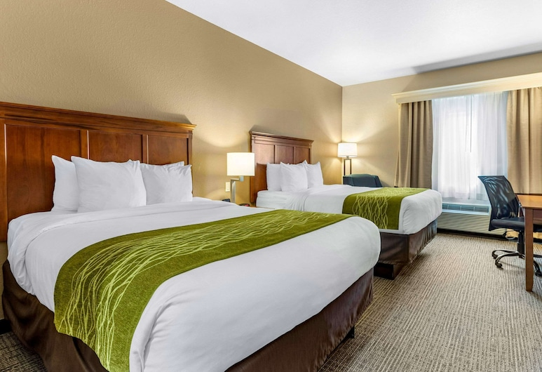 Comfort Inn & Suites Davenport - Quad Cities, Davenport, Standard Room, 2 Queen Beds, Non Smoking, Guest Room