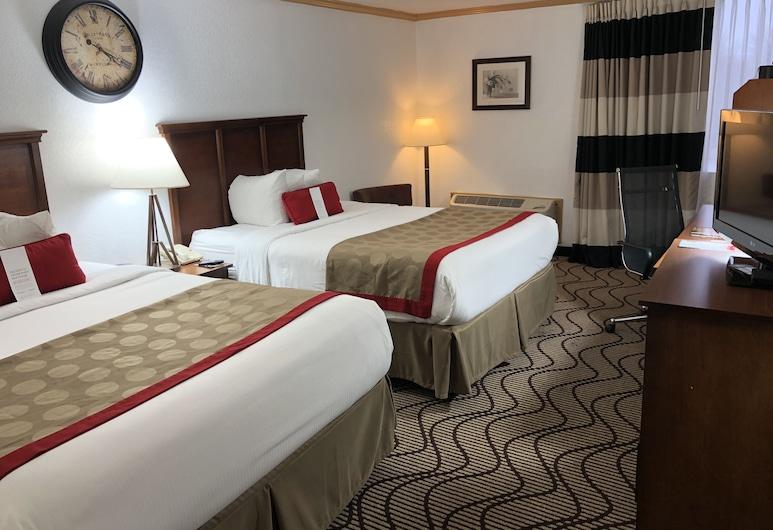 Ramada by Wyndham Birmingham Airport, Birmingham, Room, 2 Queen Beds, Non Smoking, Guest Room View