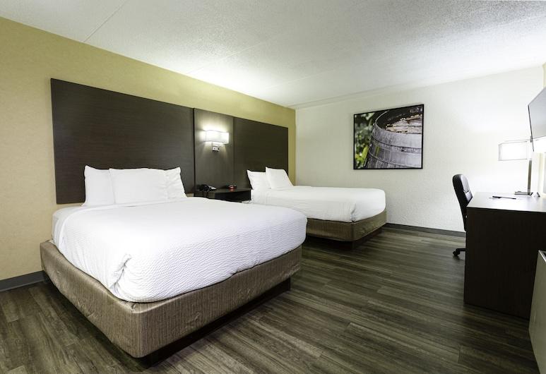 Days Inn by Wyndham Fallsview, Ниагара Фоллс, Номер, 2 двуспальные кровати, Номер