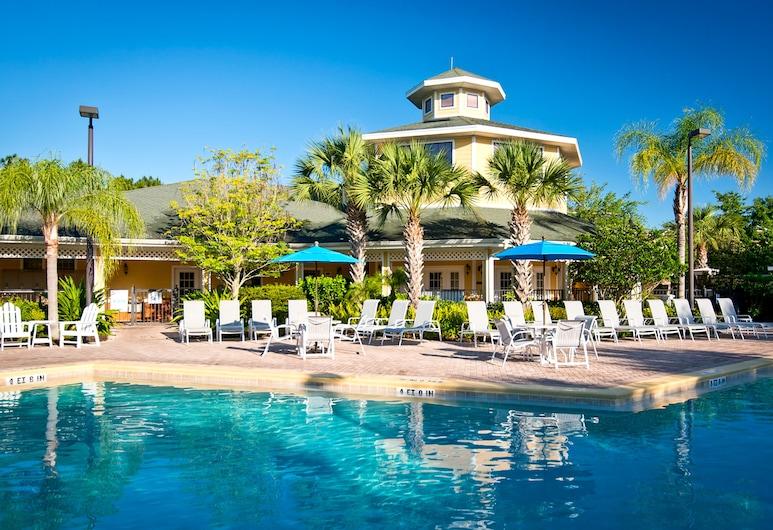 Caribe Cove Resort, Kissimmee, Mieszkanie, 2 sypialnie, jacuzzi, nad jeziorem (Deluxe Caribe Cove Aruba Villa 2 Bedr), Basen