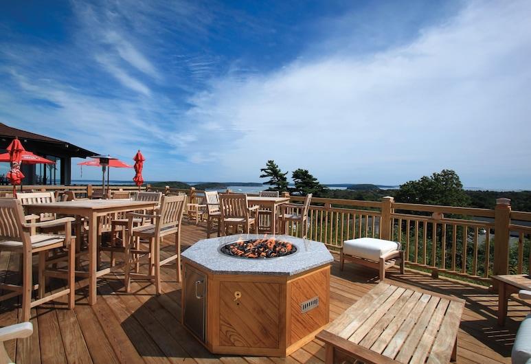 The Bluenose Inn, Bar Harbor, Terraza o patio