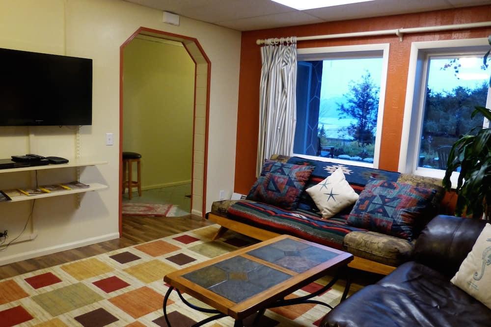 Apartamento, várias camas - Sala de Estar