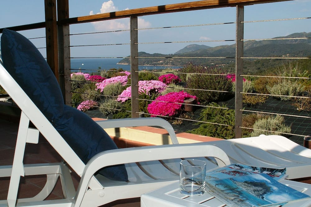 Standard Apartment, 2 Bedrooms, Sea View (for 5 people) - Balcony