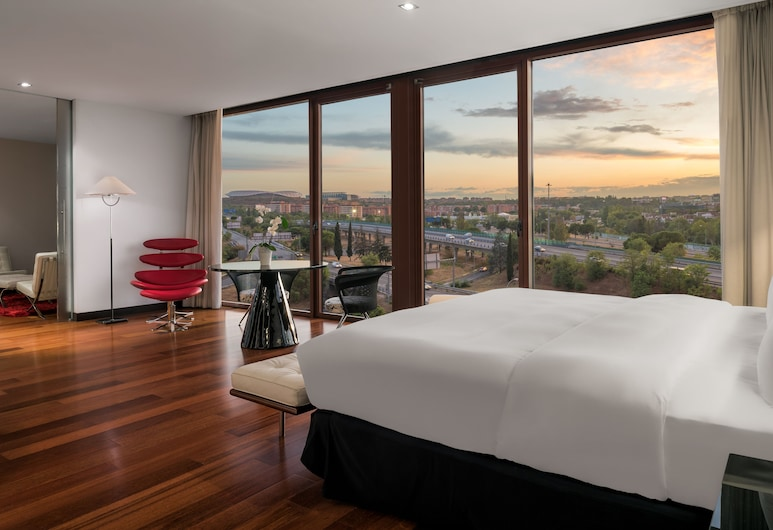 Hilton Madrid Airport, Madryt, Apartament prezydencki typu Suite, Pokój