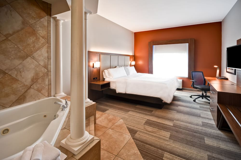Suite, 1 King Bed, Jetted Tub (Whirlpool) - Guest Room
