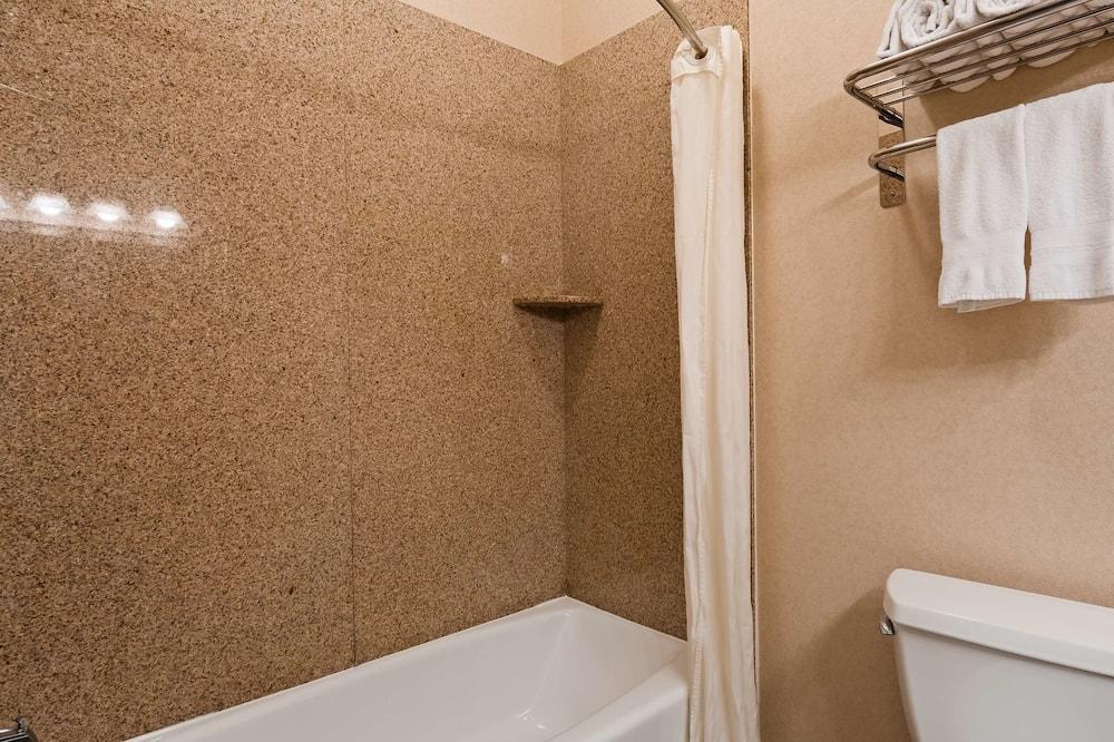 標準客房, 2 張加大雙人床, 非吸煙房, 雪櫃和微波爐 - 浴室