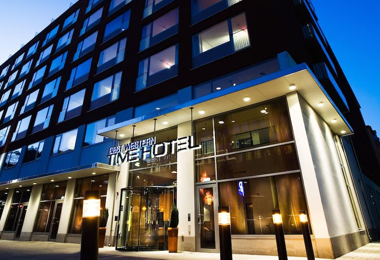 Best Western Plus Time Hotel, Stockholm, Hotellfasad