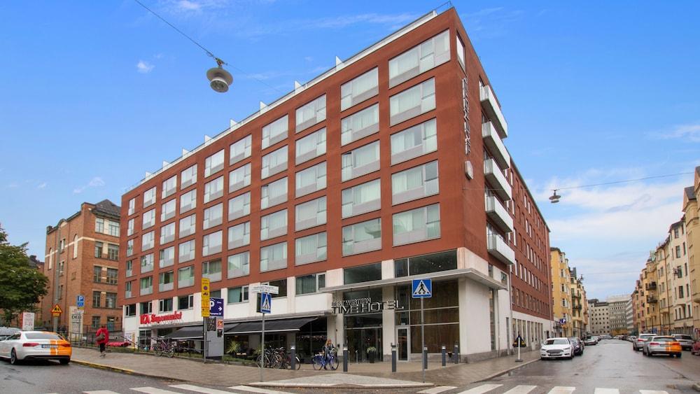 Best Western Plus Time Hotel Stockholm Porch