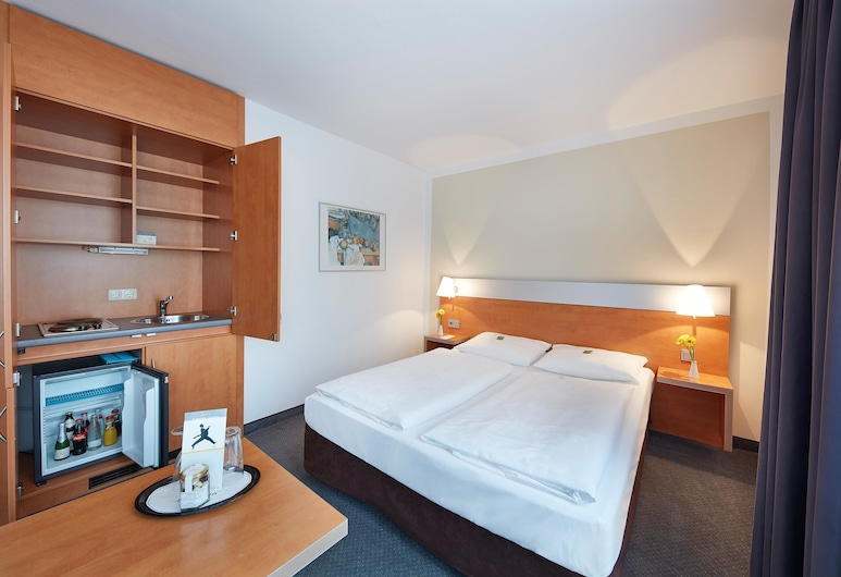 GHOTEL hotel & living München-Nymphenburg, München, Superior kahetuba, Köök
