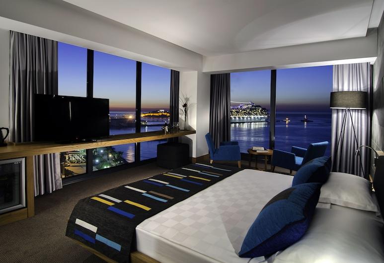 Ilayda Avantgarde Hotel, Kuşadası, Deluxe Room Sea View, Oda Manzarası