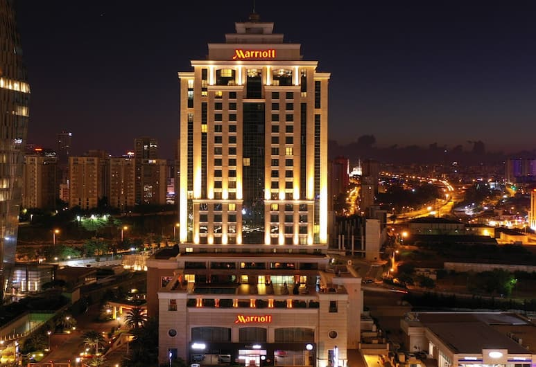 イスタンブール マリオット ホテル アジア, イスタンブール, 外装