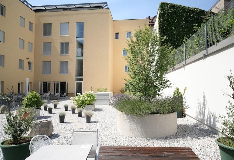 Altstadt Hotel Hofwirt Salzburg, Salzburgo, Habitación doble, vista al jardín, Patio
