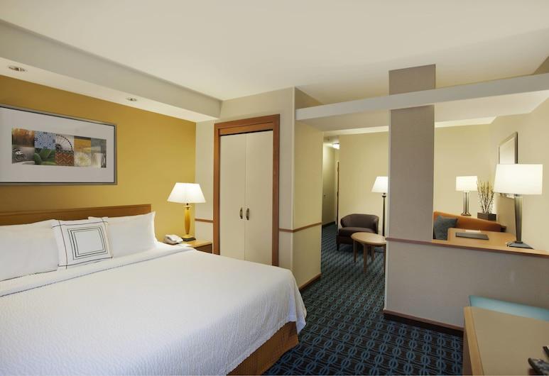 Fairfield Inn & Suites by Marriott Romulus, Romulus, Estudio, 1 cama King size, para no fumadores (Extended), Habitación