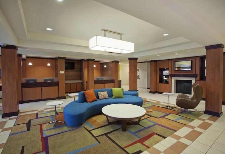 Fairfield Inn & Suites by Marriott Romulus, Romulus, Stúdió, 1 king (extra méretű) franciaágy, nemdohányzó (Extended), Lobby
