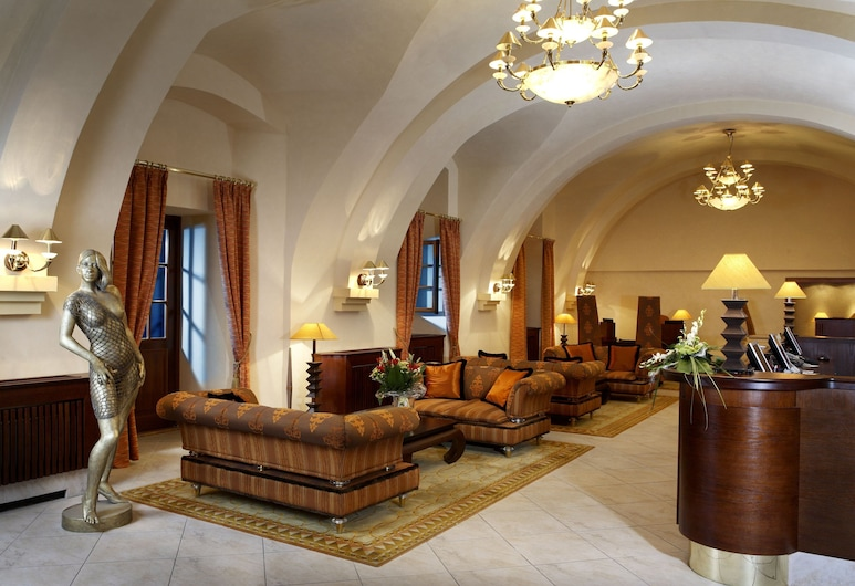 Lindner Hotel Prague Castle, Praga, Vestíbulo