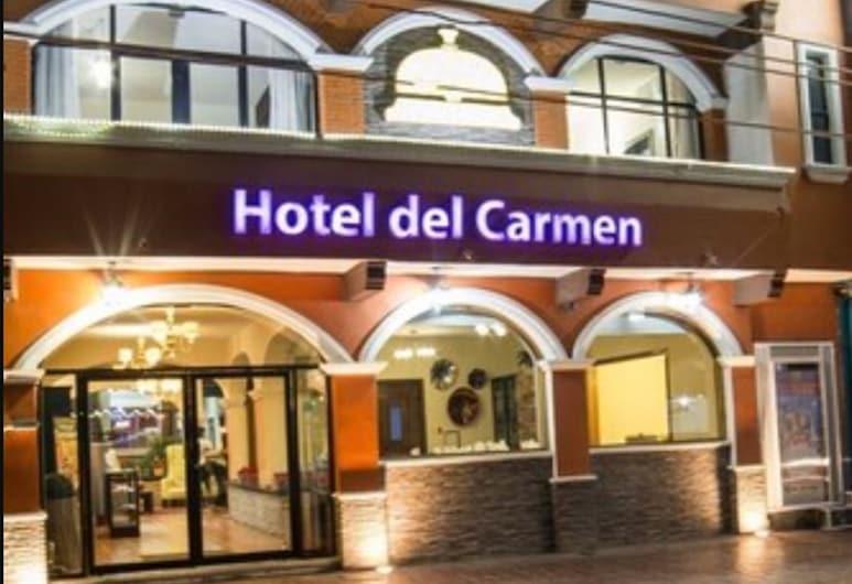 Hotel Del Carmen, Tuxtla Gutierrez, Hotel Front