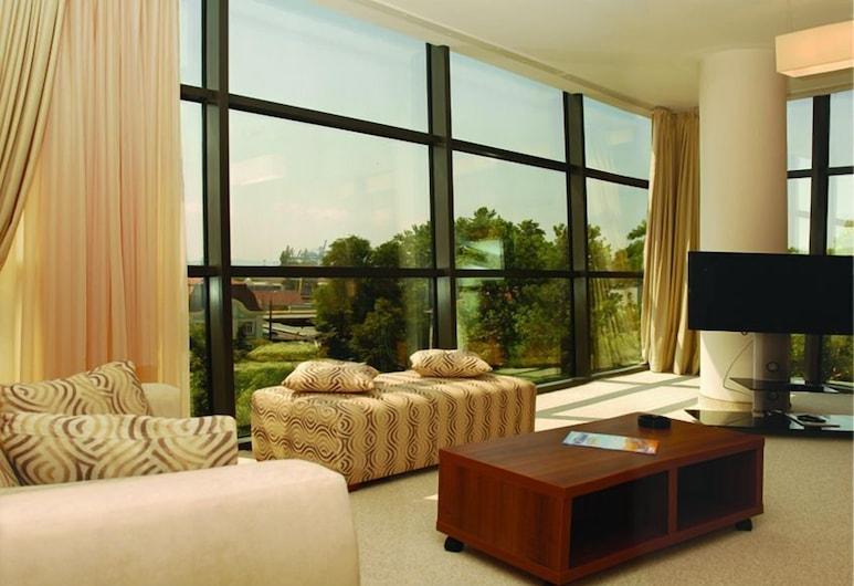 Hotel Burgas, Burgas, Suite (Free Wifi), Oppholdsområde