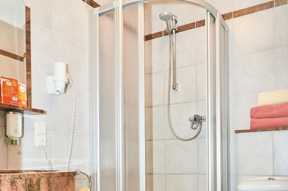 Standard Einzelzimmer mit Klimaanlage - Badezimmer