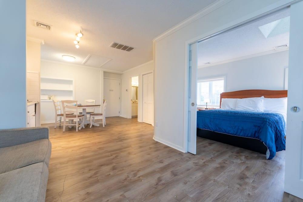 Familienapartment, 1Queen-Bett und Schlafsofa - Wohnbereich