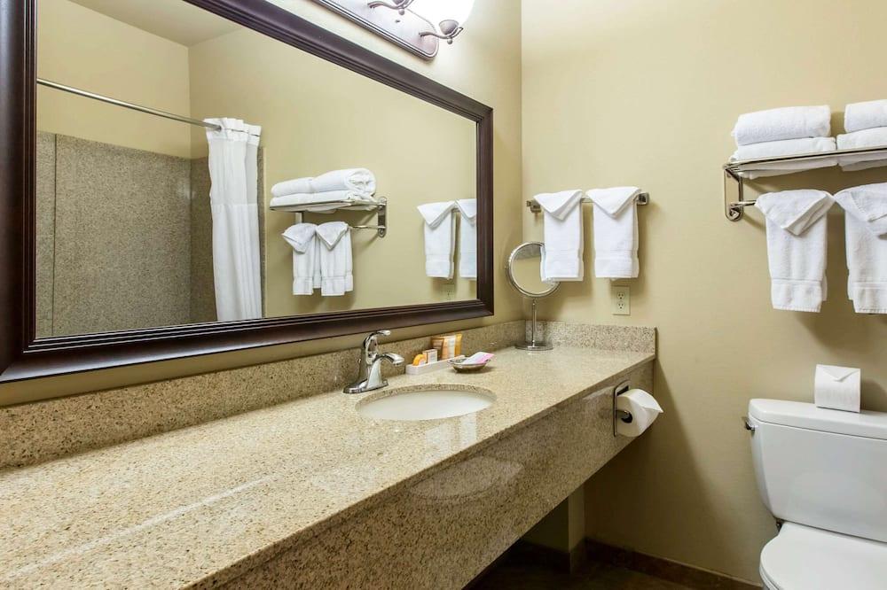 Kamer, Meerdere bedden, niet-roken (Larger Unit) - Badkamer