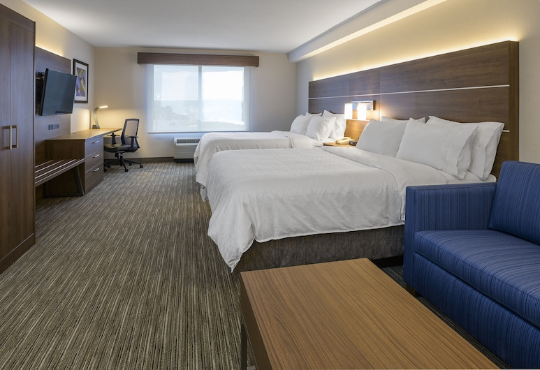 Holiday Inn Express & Suites North Bay, North Bay, Room, 2 Queen Beds, Non Smoking, Guest Room
