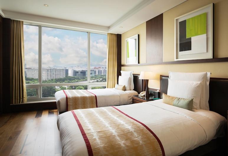 首爾萬豪行政公寓, 首爾, 套房, 1 張標準雙人床, 非吸煙房, 城市景觀, 城市景觀