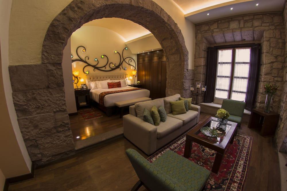 Suite Junior, 1 letto king - Area soggiorno